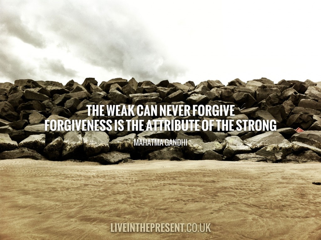 Forgiveness will set you free